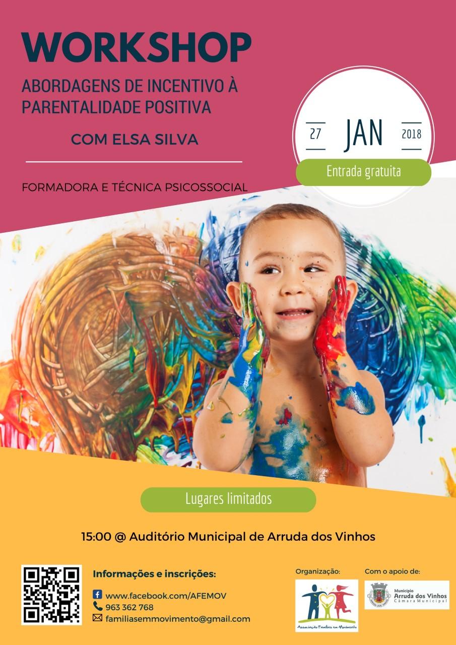 Workshop de Parentalidade Positiva