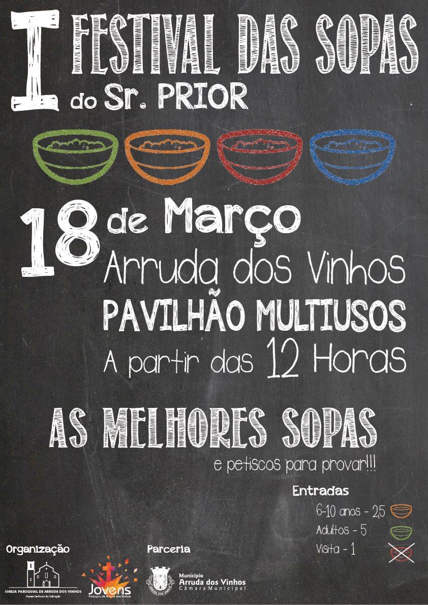 I Festival de Sopas do Sr. Prior