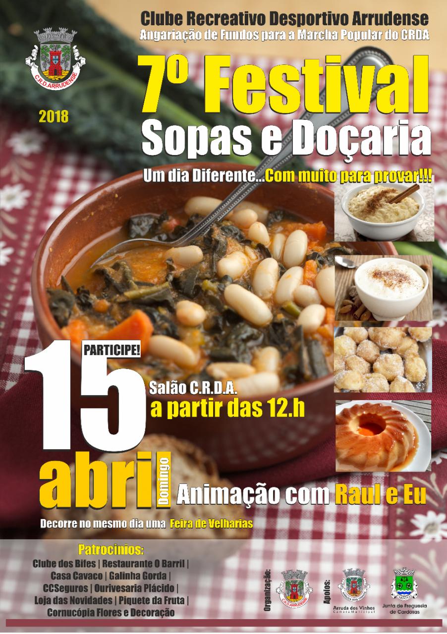 7.º Festival de Sopas e Doçarias