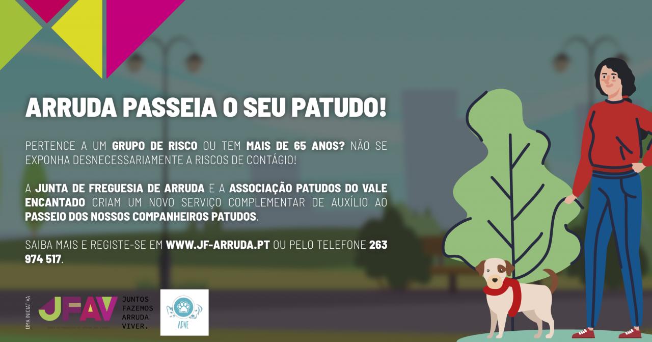 Arruda passeia o seu Patudo!