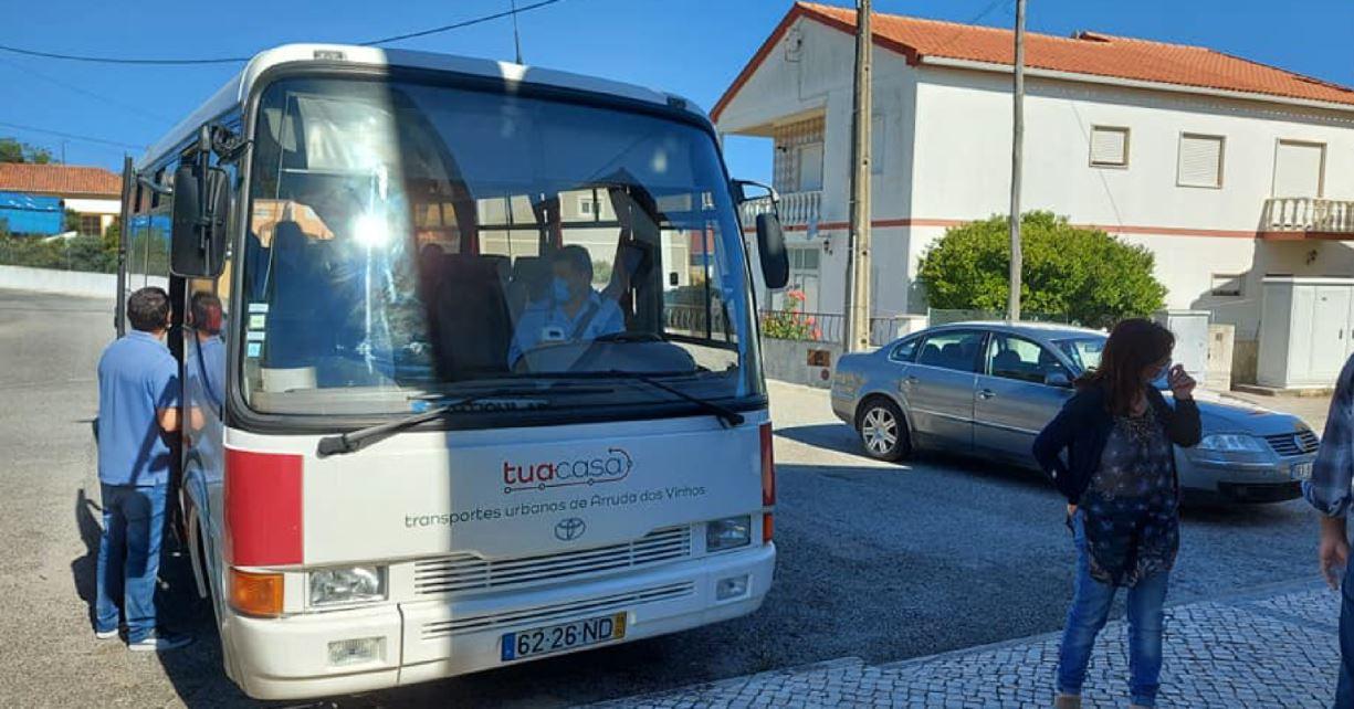 TUA Casa - Arruda inaugura rede local de transportes públicos