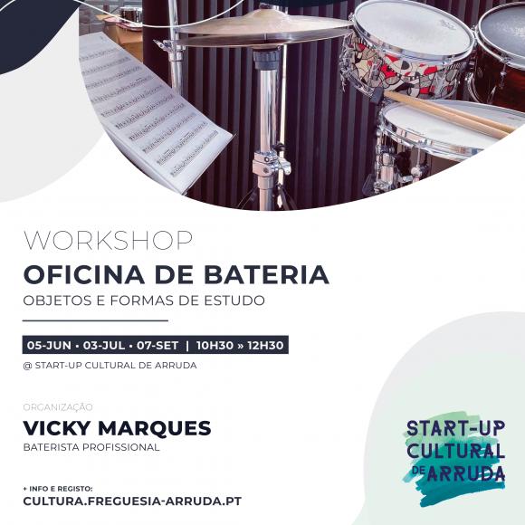 Workshop «Oficina de Bateria»