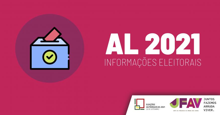 Autárquicas 2021   Editais e Informações