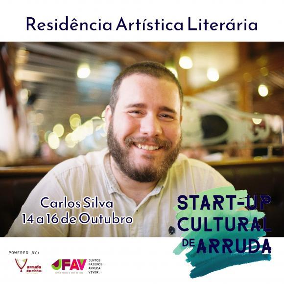 Start-Up Cultural recebe escritor Carlos Silva