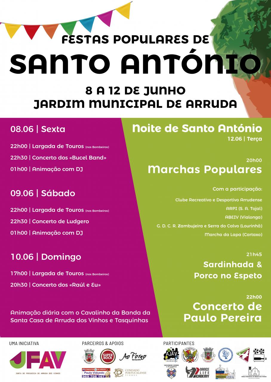 Arruda celebra os Santos Populares