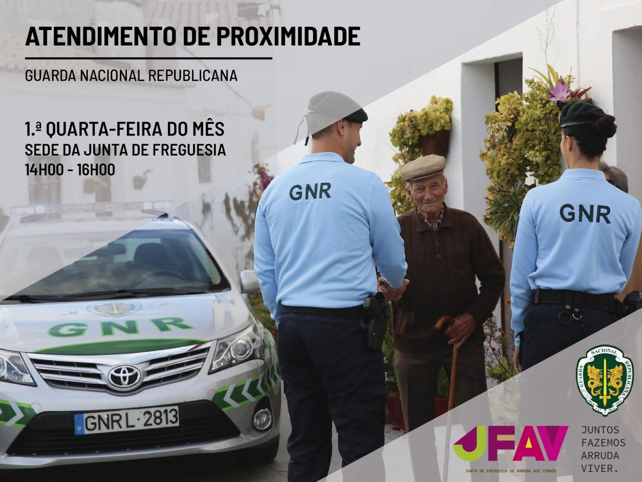 Parceira Junta de Freguesia/GNR cria Atendimento de Proximidade
