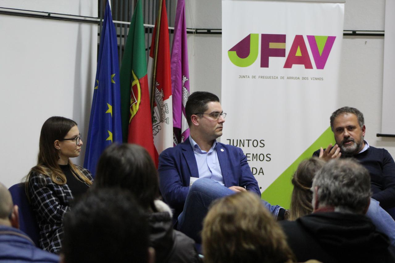 JFAV debateu a Arte Urbana e a Promoção da Cultura