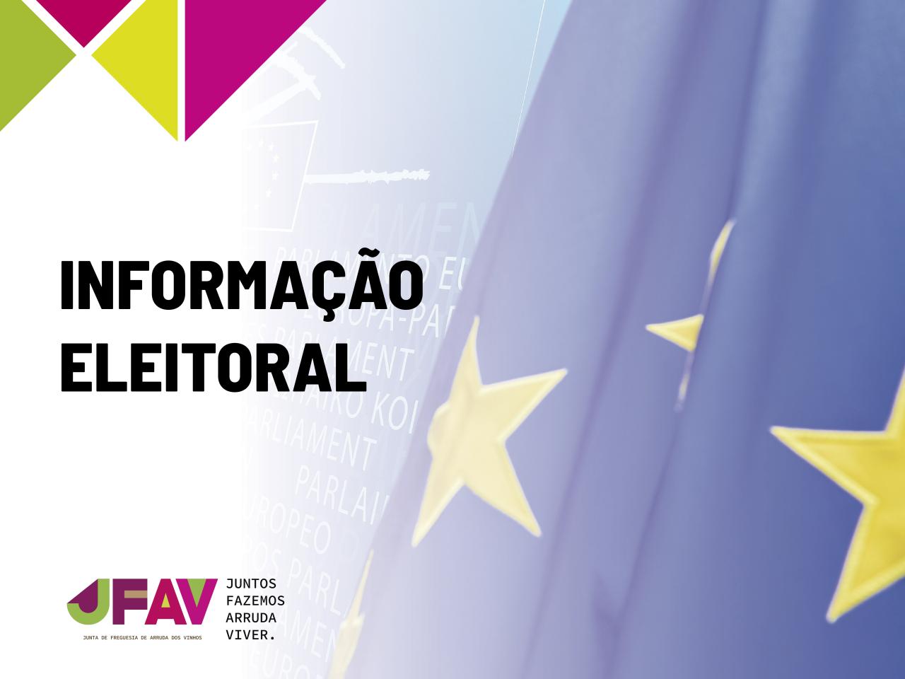 Eleições Europeias 2019 | Informações e Editais