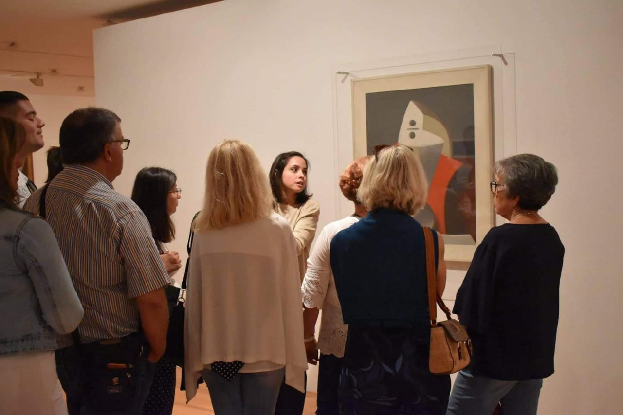 2.º Passeio Cultural da Freguesia visitou duas exposições em Lisboa