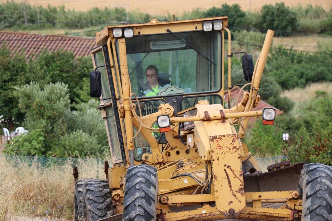 Junta de Freguesia reabilita caminhos rurais