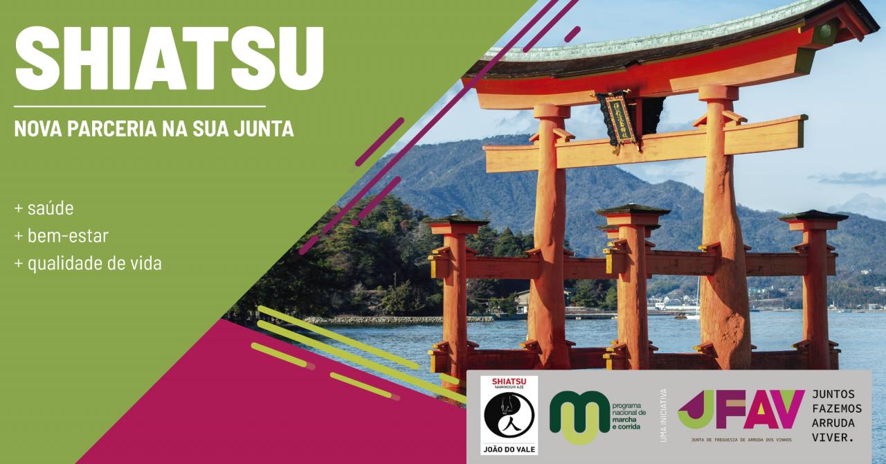 Centro de Marcha lança parceria de Shiatsu
