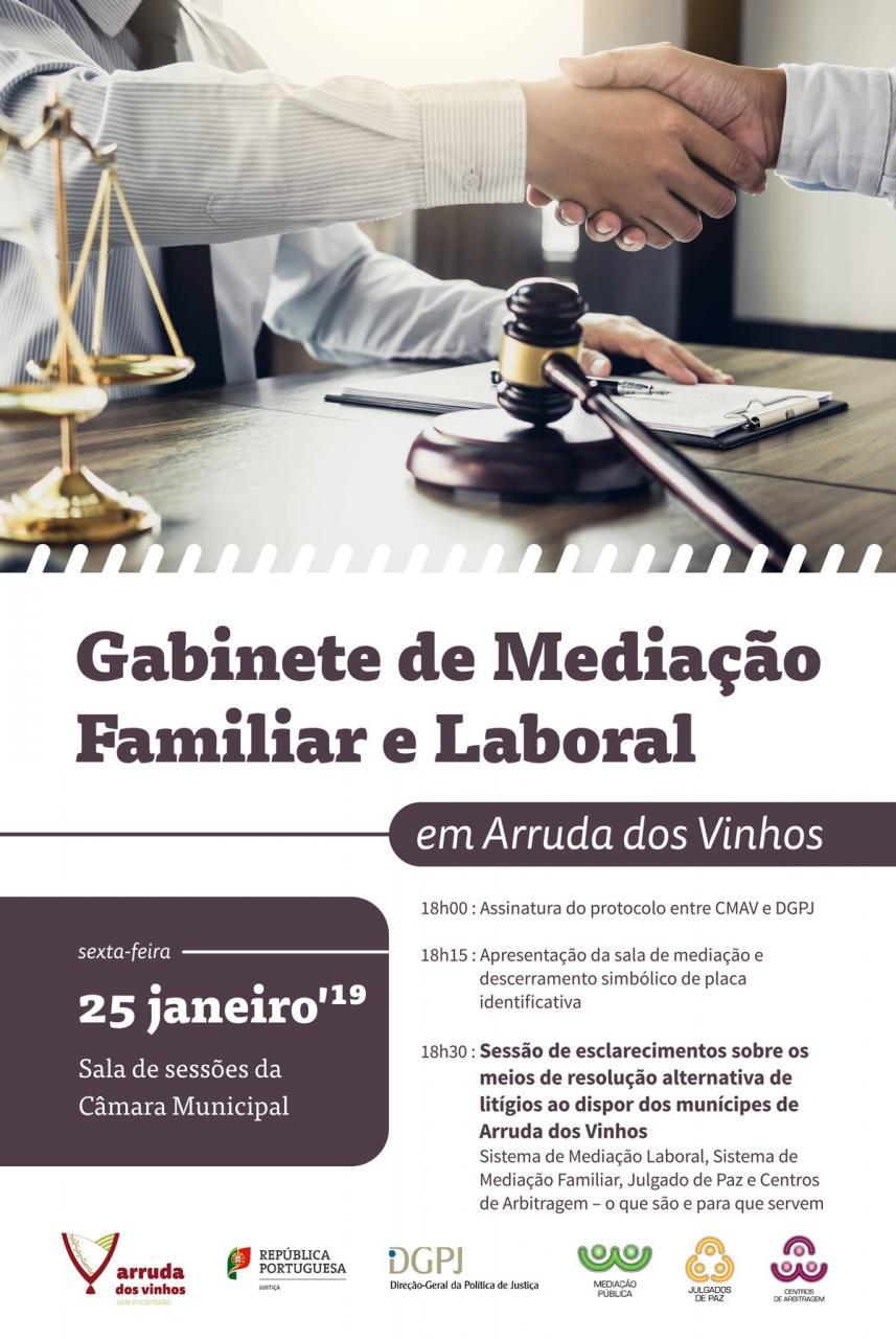 Inauguração do Gabinete de Mediação Familiar e Laboral