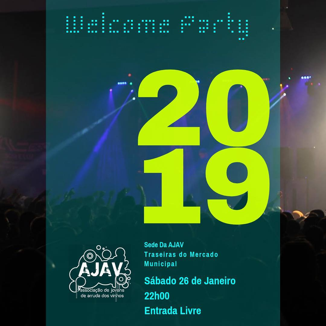 Welcome Party da AJAV