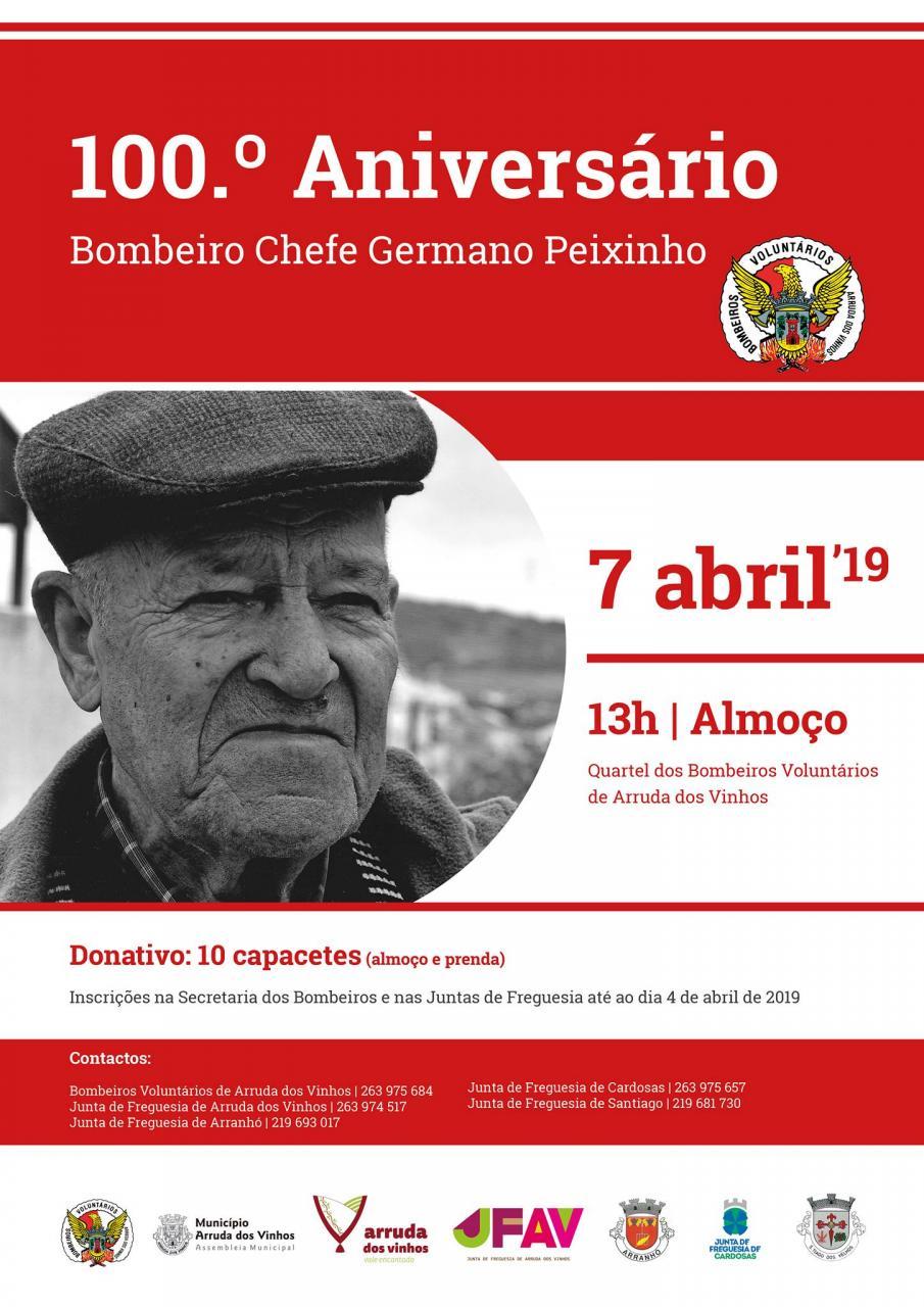 100.º Aniversário do Chefe Germano Peixinho