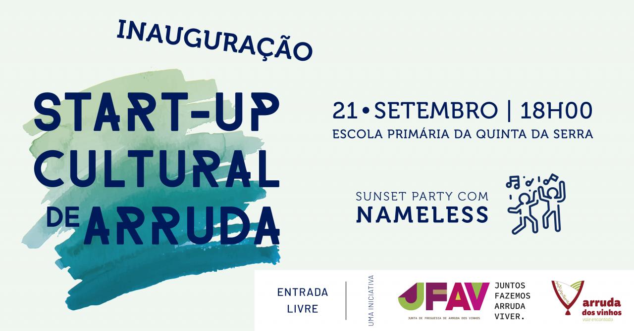 Inauguração da Start-Up Cultural de Arruda