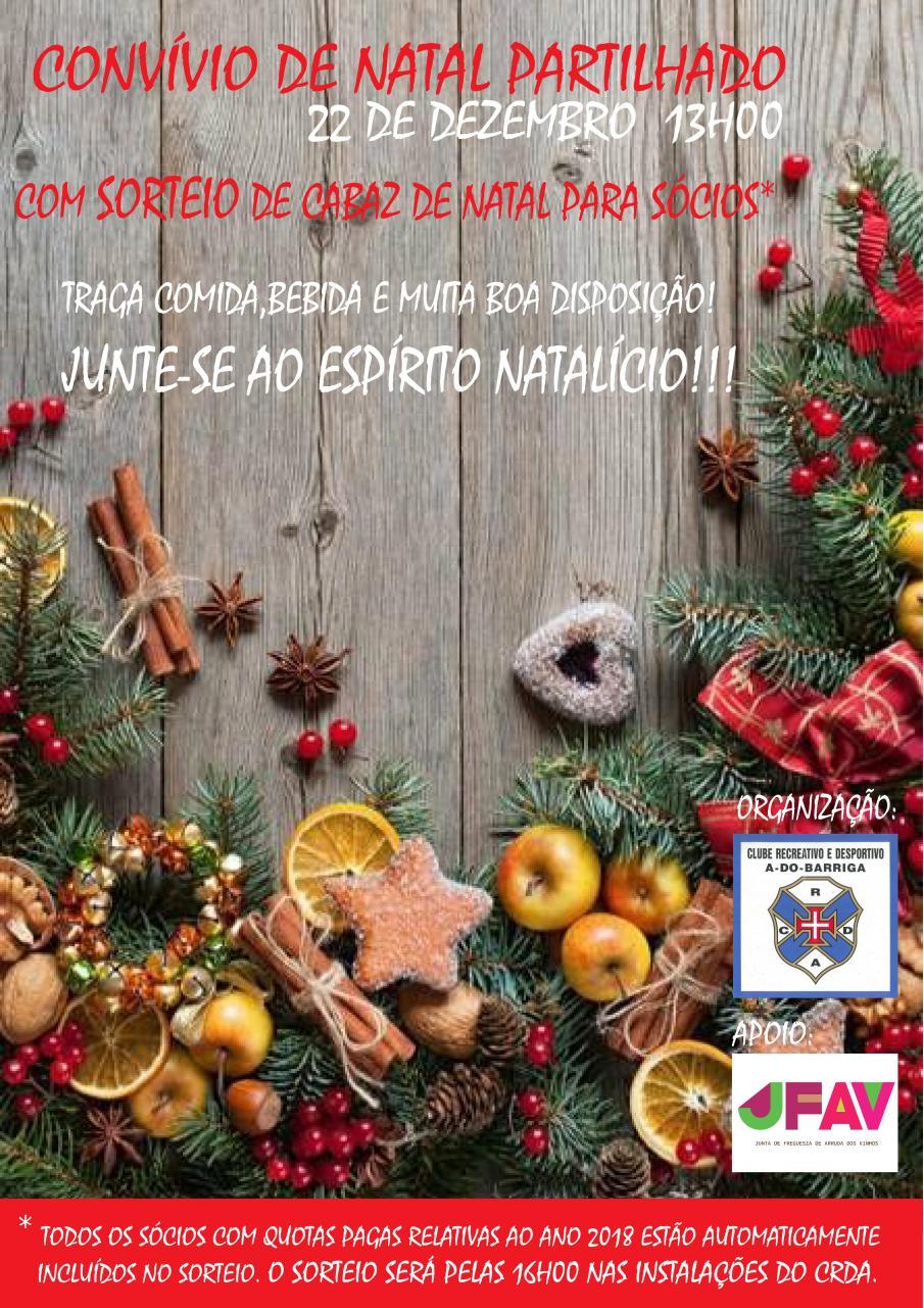 Convívio de Natal Partilhado | CRD A-do-Barriga