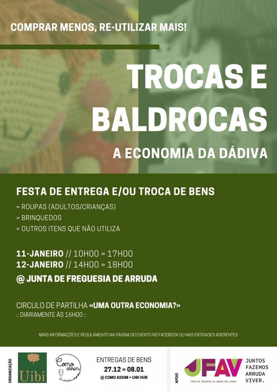 Festa de Trocas e Baldrocas