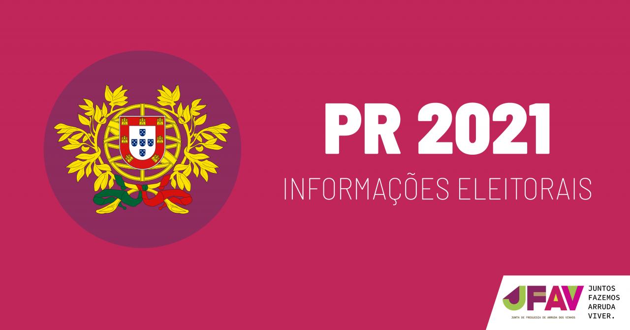 Eleições Presidenciais 2021 - Voto Antecipado