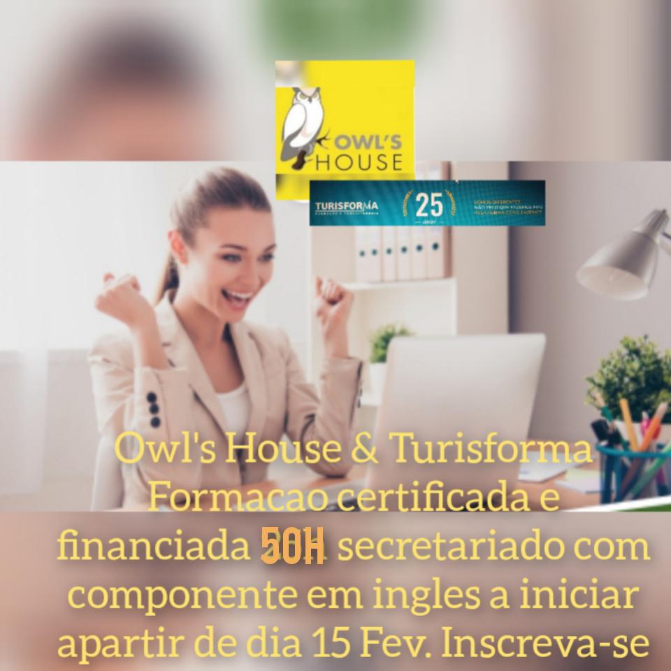 Formação Financiada Online   Secretariado / Atendimento (Inglês - 50H)