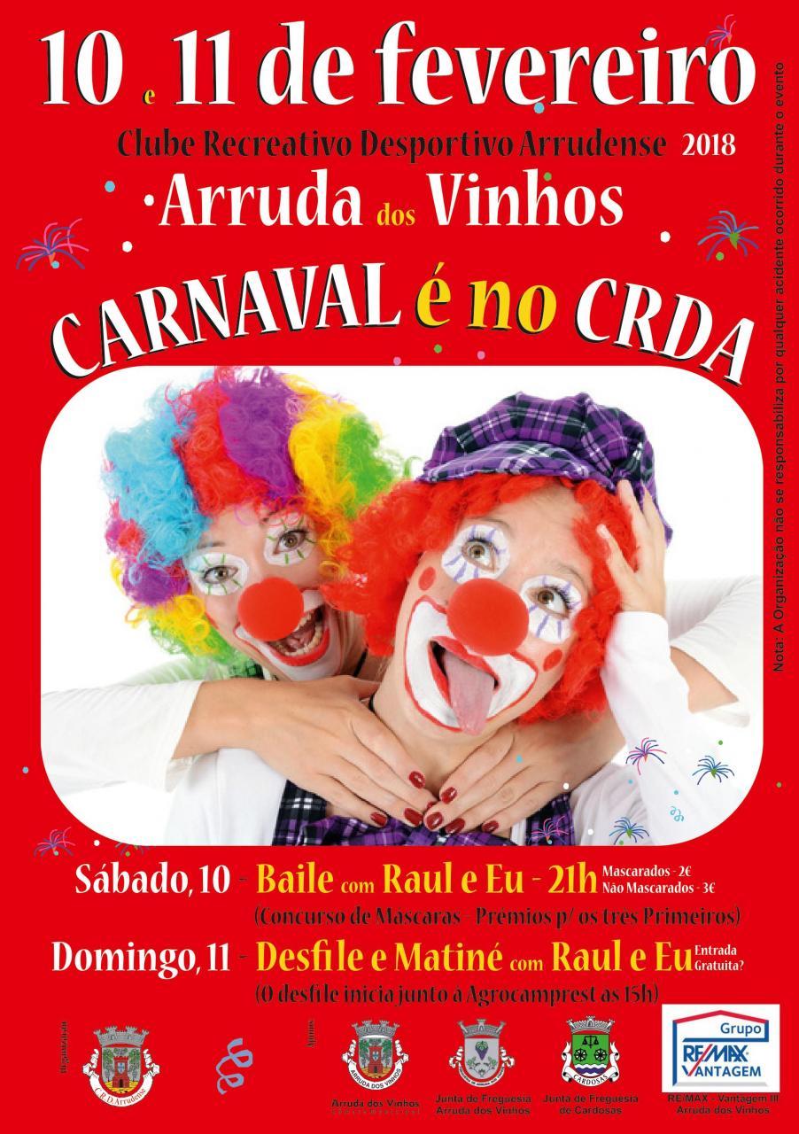 CRDA celebra o Carnaval
