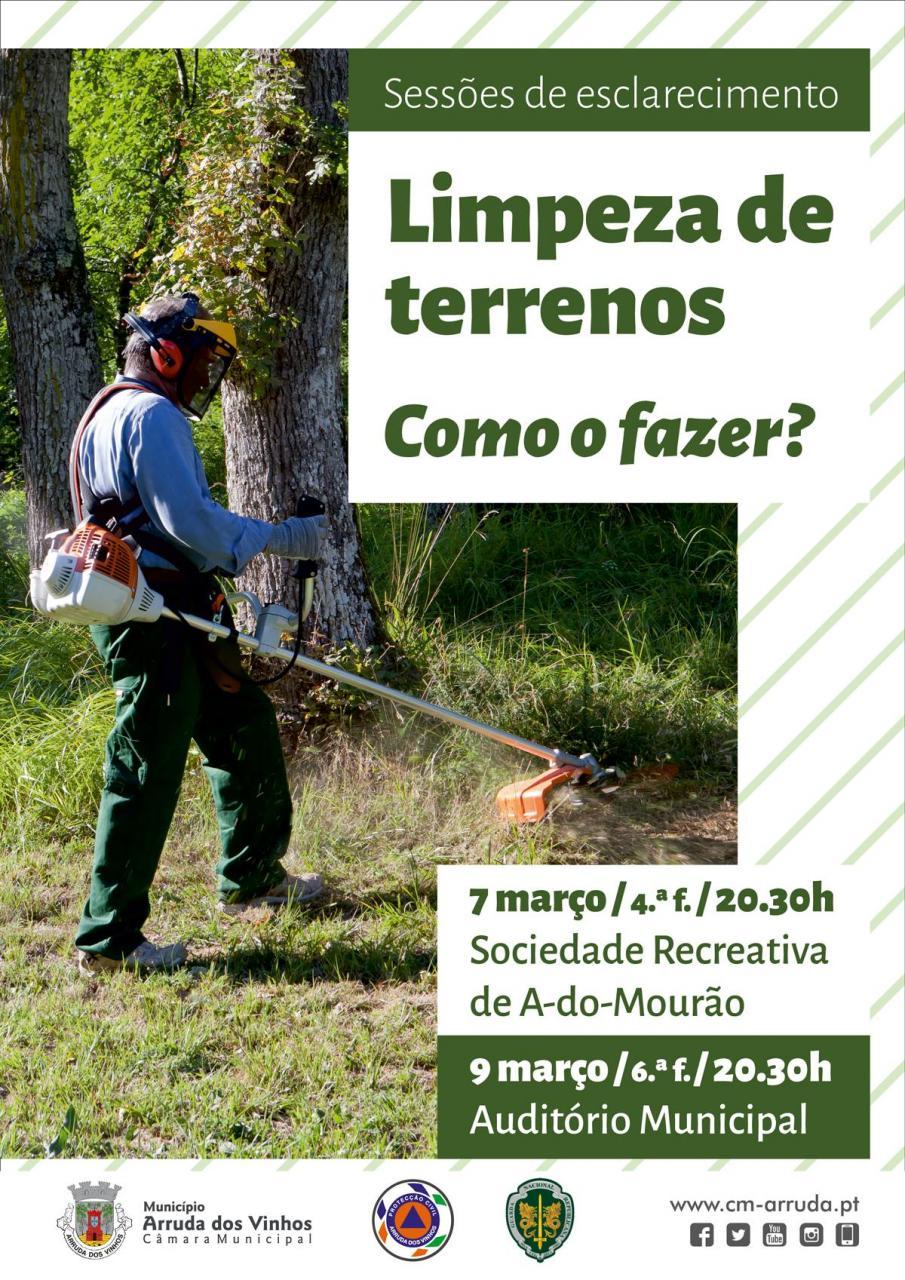 Limpeza de terrenos - Como o fazer?