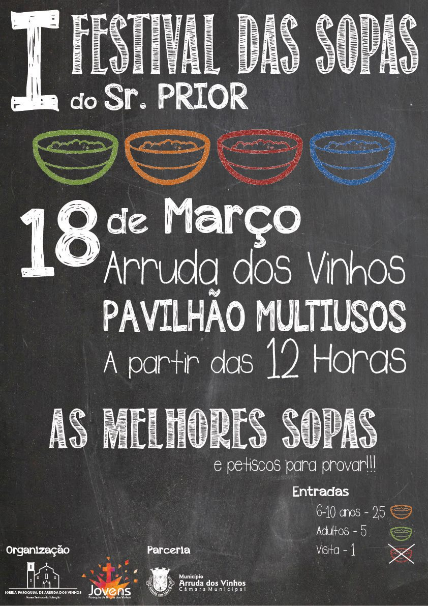 I Festival de Sopas do Sr. Prior