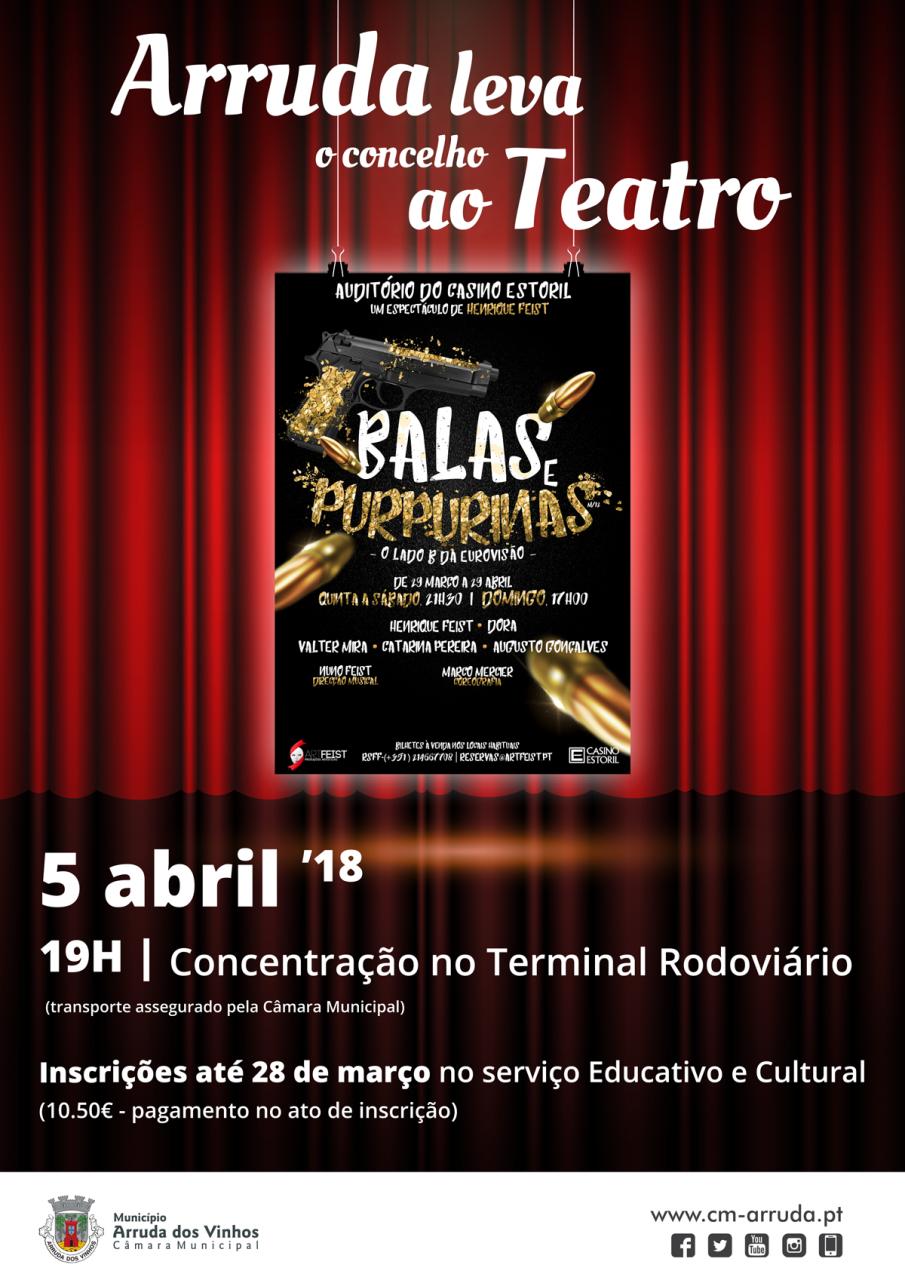 Ida ao Teatro | «Balas e Purpurinas»