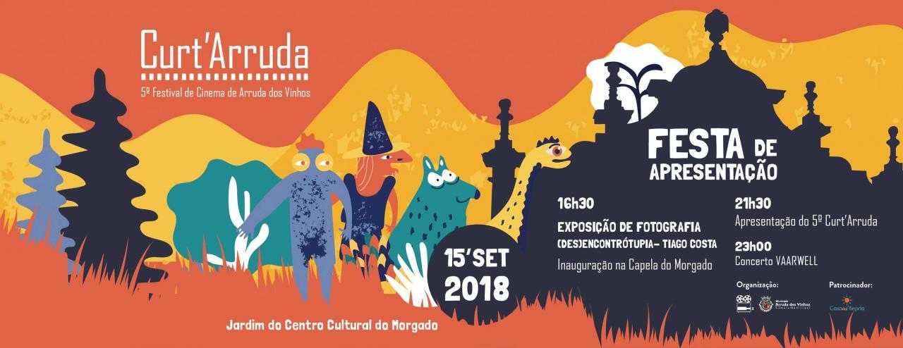 Lançamento do Festival Curt'Arruda