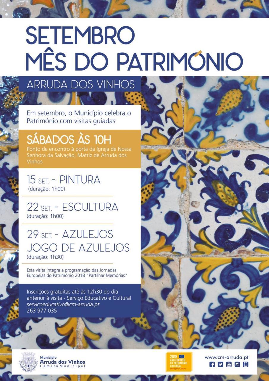 Setembro - Mês do Património | Escultura | Visitas Guiadas